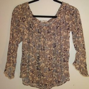 Sale Womens Lush Top size Large